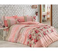 Хлопковый комплект постельного белья ЕВРО размера Cotton Box  EMMA SOMON CB03
