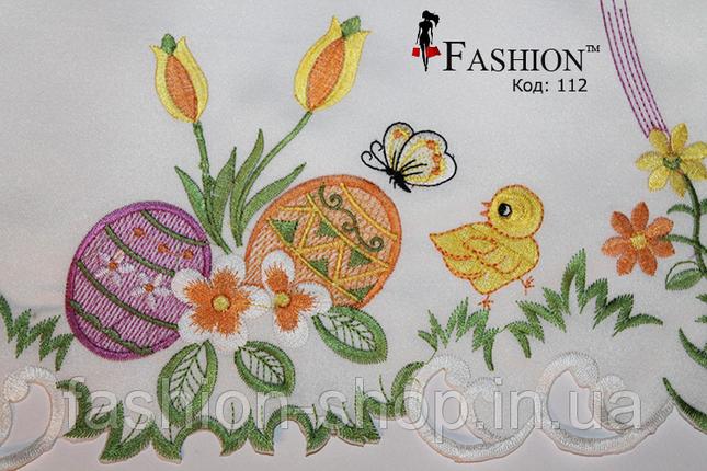 Пасхальная салфетка Цыплёнок и бабочка, фото 2