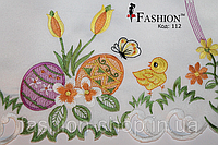 Пасхальная салфетка Цыплёнок и бабочка