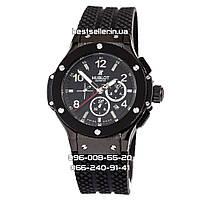Часы Hublot Big Bang Black Edition Geneva (Механика). Реплика, фото 1
