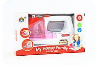 Детский утюг Happy Family (свет, звук, брызгает водой) 5201, фото 1
