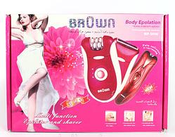 Эпилятор BROWN 3058 с бритвенной насадкой