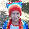Вязаные шапочки и шарфики
