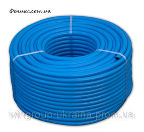 Шланг технический армированный кислородный - blue 10мм - 2,5мм 50м