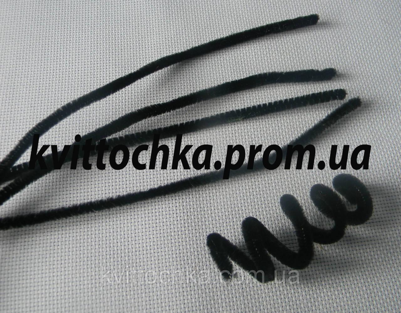 Синельная палочка цвет - чёрный, цена за 10 шт