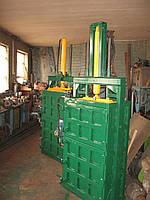 Пресс для отходов гидравлический одноцилиндровый