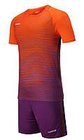 Футбольная форма Europaw 013 оранжево-фиолетовая XS