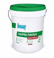 Готовая шпатлевка Knauf Sheetrock super finish, 28 кг.