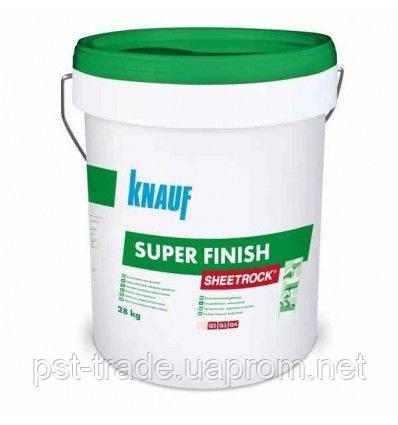 Готовая шпатлевка Knauf Sheetrock super finish, 28 кг., фото 2