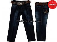 Модние брюки джинсы для мальчика с поясом 4 года. Турция!!! Детская джинсовая одежда.
