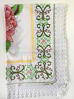 Скатерть Home Plus тканевая с орнаментом 150х220