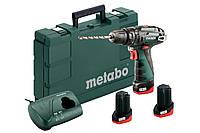Аккумуляторная ударная дрель Metabo PowerMaxx SB Basic Set (набор), 600385960