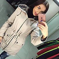 """Женское демисезонное пальто VOL ange """"Парка"""""""