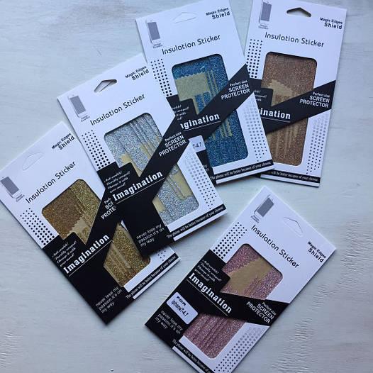 Алмазные плёночки Swarovski для iPhone 7 Plus