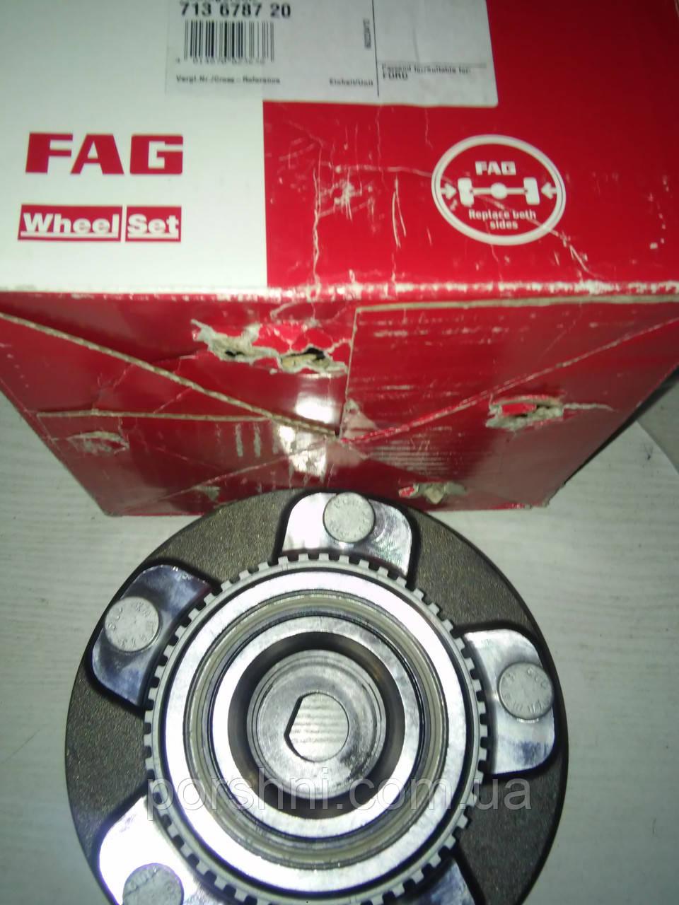 Ступица  задняя Ford Транзит 2.0 2001 --с ABS диски Ø 16. FAG 713 6787 20