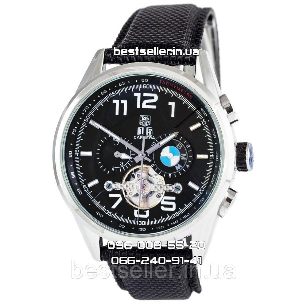 bb9f8794 Часы Tag Heuer BMW M Power (Механика) black/silver/black. Класс: AAA ...