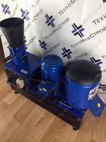 Кукурузолущилка + корморезка + гранулятор кормовых гранул ГКМ-150 (380 В, 4 кВт) 100/400/350 кг/час