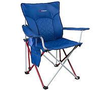 Удобный кемпинговый стул Caribee Lumbar Flex Blue 922359 синий