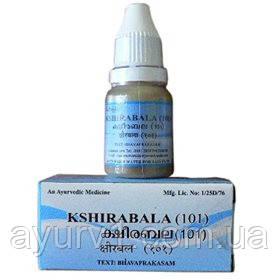 Кширабала 101 - Супер масло, Arya Vaidya Sala / 10 мл
