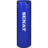 """Боксерский мешок SENAT """"Classiс"""" 90х29 ПВХ 4 подвеса 2 цвета (синий, красный)"""