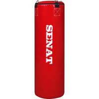 """Боксерский мешок SENAT """"SUPER"""" 150х34 ПВХ 8 подвесов 2 цвета (красный, синий)"""