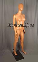 Манекен объемный женский в полный рост с головой аватара2 Сивоян с прической, фото 3