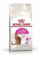 Корм сухой Роял Канин для взрослых котов привередливых ко вкусу Royal Canin Exigent Savour 4 кг