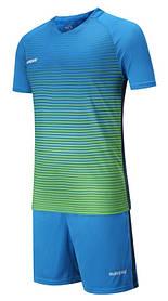 Футбольная форма Europaw 013 сине-зеленая XL