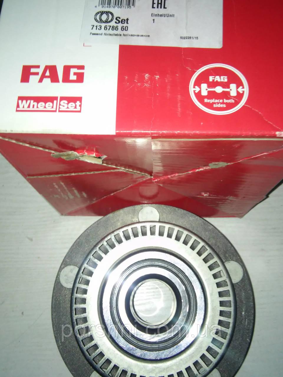 Ступица  задняя Ford Транзит 2.0 2001 -- с ABS  FAG 713678660