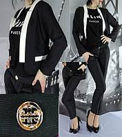 Женский брючный костюм 10 цветов S, M, L, XL