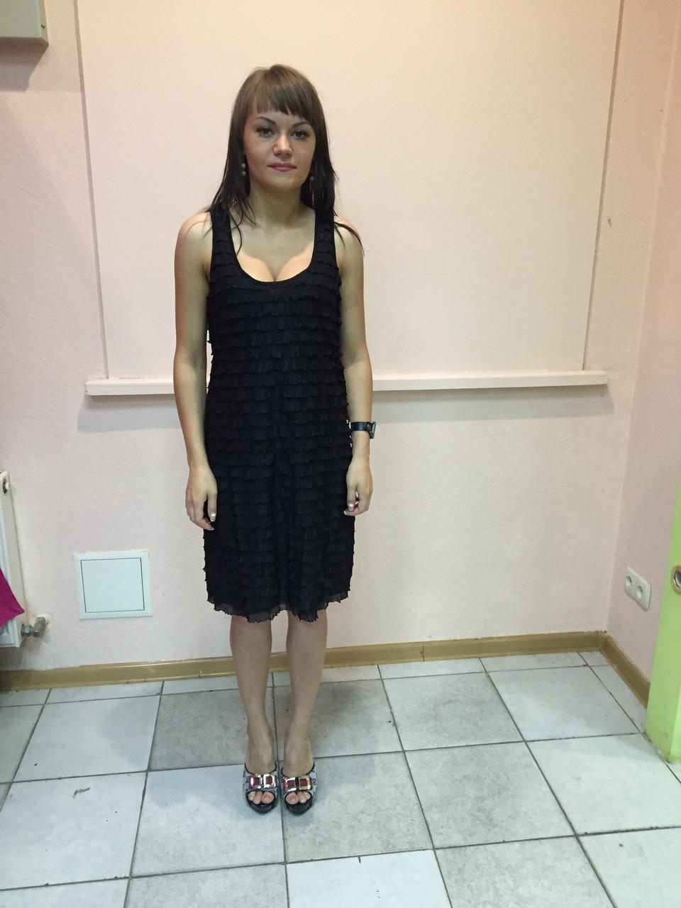 Платье женское вечернее черное La redoute  маленькое