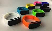 """Стильные спортивные силиконовые часы браслет""""LED Watch"""" унисекс 1+1"""