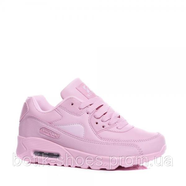 Женские розовые модные кроссовки Nike Air Max 90 Найк Аир Макс 90, реплика  Rapter 4fdfa990f28