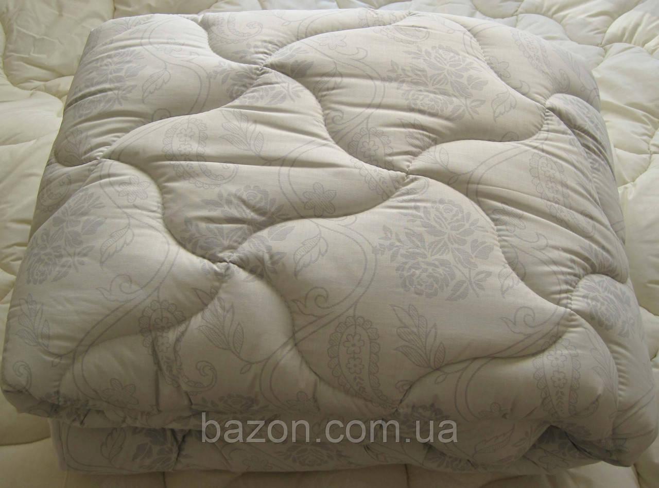Одеяло двуспальное евро 200х210 см хлопок холлофайбер TM KRISPOL
