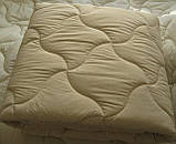Одеяло двуспальное евро 200х210 см хлопок холлофайбер TM KRISPOL, фото 2