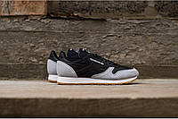 "Кроссовки Reebok Classic Leather ""Grey/Black/White"""