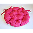 Подушка на стул круглая D-40 Ливинг Маки, фото 2