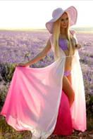 Туника омбре розово-белый Empire Of Summer