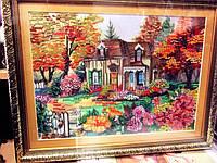 Схема для вышивки бисером Осенние краски, фото 1