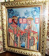 Схема вышивки бисером иконы Св. Князья Муромские, фото 1
