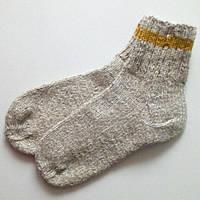 Шерстяные вязаные носки (26,5 см)