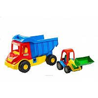 Грузовик с трактором WADER 39219
