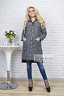 Кардиган-пальто Букле