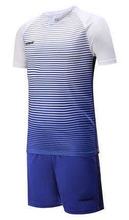 Футбольная форма Europaw 013 бело-синяя [XS], фото 2