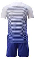 Футбольная форма Europaw 013 бело-синяя [XS, XL], фото 3
