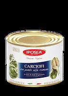 IPOSEA Carciofi in olio con gambo latta- Артишоки в масле, 2200g