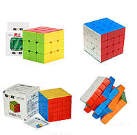 "Набор цветных кубиков Рубика ""3+4+5"" от QiYi (кубик-рубика MoFangGe)"