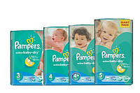 Памперсы Pampers  Active Baby Giant Pack 3,4,5