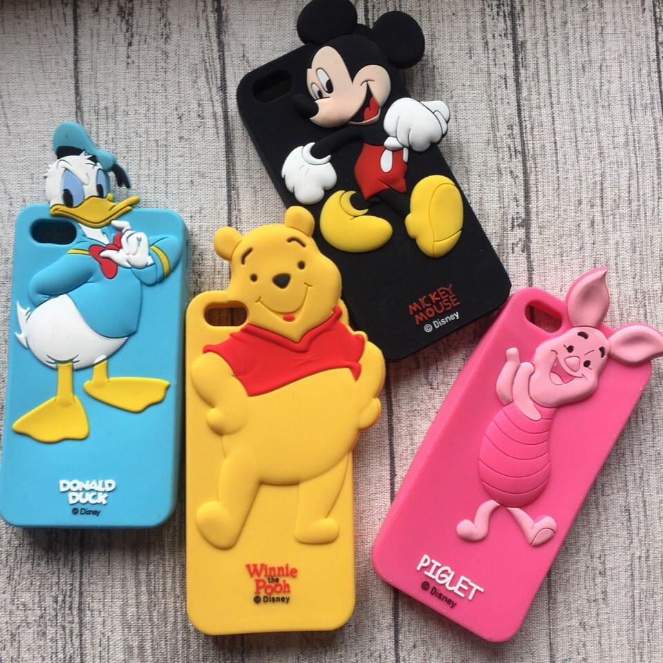 Силиконовый чехол с героями Disney для iPhone 5/5s/se
