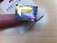 Распродажа Перстень с большим прозрачным камнем